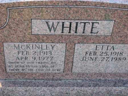 WHITE, MCKINLEY - Poinsett County, Arkansas | MCKINLEY WHITE - Arkansas Gravestone Photos