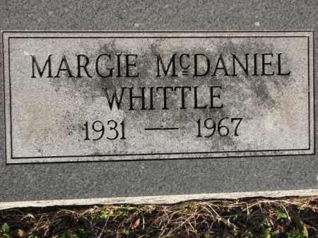 WHITTLE, MARGIE - Poinsett County, Arkansas | MARGIE WHITTLE - Arkansas Gravestone Photos