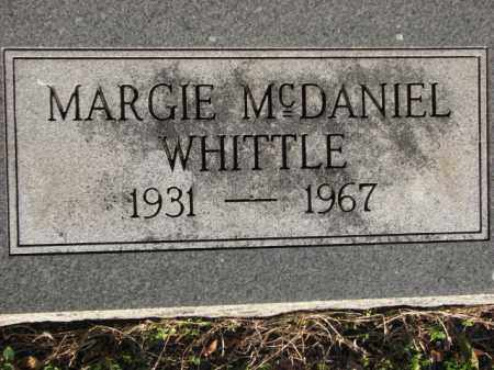 WHITTLE, MARGIE - Poinsett County, Arkansas | MARGIE WHITTLE - Arkansas Gravestone Photos