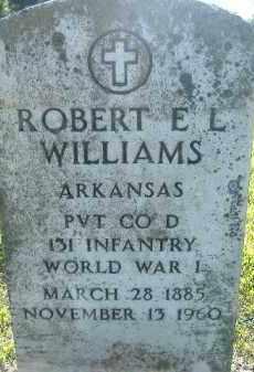 WILLIAMS  (VETERAN WWI), ROBERT E L - Poinsett County, Arkansas | ROBERT E L WILLIAMS  (VETERAN WWI) - Arkansas Gravestone Photos