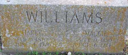 WILLIAMS, MAGGIE - Poinsett County, Arkansas | MAGGIE WILLIAMS - Arkansas Gravestone Photos