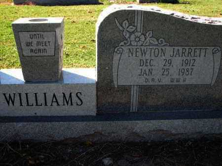 WILLIAMS, NEWTON JARRETT - Poinsett County, Arkansas | NEWTON JARRETT WILLIAMS - Arkansas Gravestone Photos