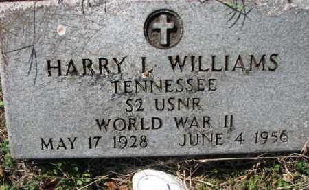 WILLIAMS (VETERAN WWII), HARRY L - Poinsett County, Arkansas | HARRY L WILLIAMS (VETERAN WWII) - Arkansas Gravestone Photos