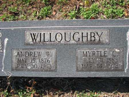 WILLOUGHBY, ANDREW W. - Poinsett County, Arkansas | ANDREW W. WILLOUGHBY - Arkansas Gravestone Photos