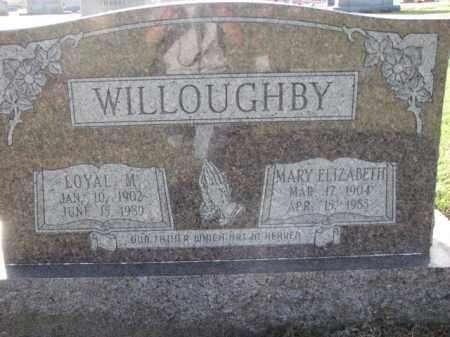 WILLOUGHBY, LOYAL M. - Poinsett County, Arkansas | LOYAL M. WILLOUGHBY - Arkansas Gravestone Photos