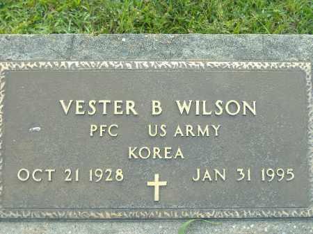 WILSON  (VETERAN KOR), VESTER B - Poinsett County, Arkansas   VESTER B WILSON  (VETERAN KOR) - Arkansas Gravestone Photos