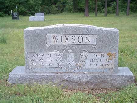 WIXSON, JOHN W - Poinsett County, Arkansas | JOHN W WIXSON - Arkansas Gravestone Photos