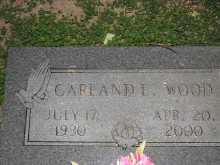 WOOD, GARLAND E. - Poinsett County, Arkansas | GARLAND E. WOOD - Arkansas Gravestone Photos