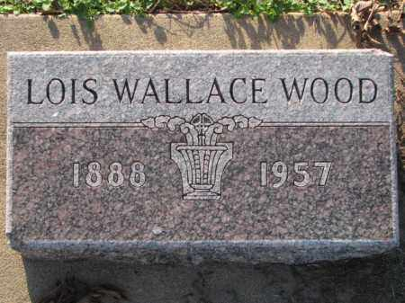 WALLACE WOOD, LOIS - Poinsett County, Arkansas   LOIS WALLACE WOOD - Arkansas Gravestone Photos