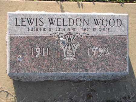 WOOD, LEWIS WELDON - Poinsett County, Arkansas | LEWIS WELDON WOOD - Arkansas Gravestone Photos