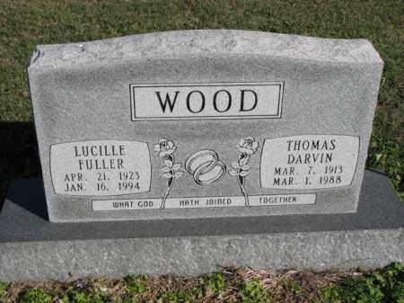 FULLER WOOD, LUCILLE - Poinsett County, Arkansas | LUCILLE FULLER WOOD - Arkansas Gravestone Photos