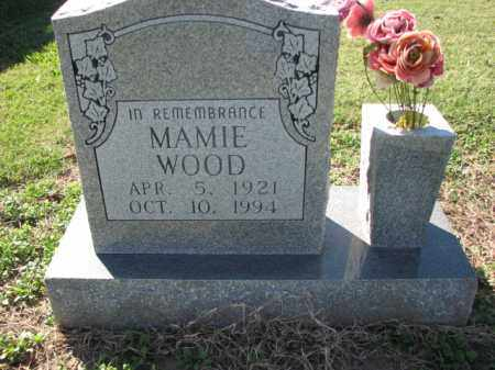 WOOD, MAMIE - Poinsett County, Arkansas | MAMIE WOOD - Arkansas Gravestone Photos