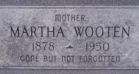 WOOTEN, MARTHA - Poinsett County, Arkansas | MARTHA WOOTEN - Arkansas Gravestone Photos