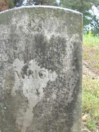 WRIGHT  (VETERAN), JOHN B B - Poinsett County, Arkansas   JOHN B B WRIGHT  (VETERAN) - Arkansas Gravestone Photos