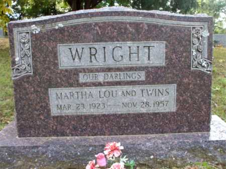WRIGHT, TWINS - Poinsett County, Arkansas | TWINS WRIGHT - Arkansas Gravestone Photos
