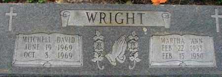 WRIGHT, MITCHELL DAVID - Poinsett County, Arkansas   MITCHELL DAVID WRIGHT - Arkansas Gravestone Photos