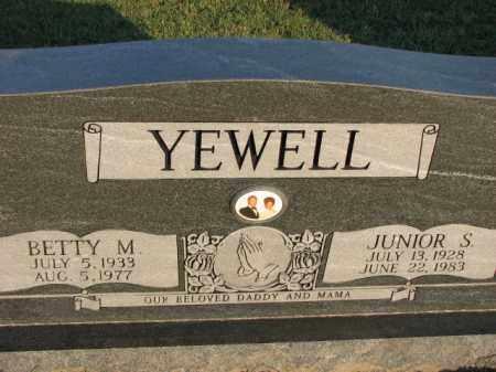 YEWELL, JUNIOR S. - Poinsett County, Arkansas | JUNIOR S. YEWELL - Arkansas Gravestone Photos