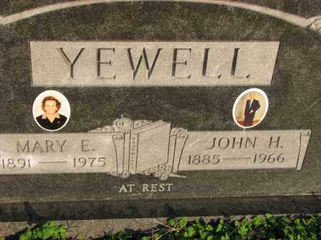 YEWELL, JOHN H. - Poinsett County, Arkansas | JOHN H. YEWELL - Arkansas Gravestone Photos