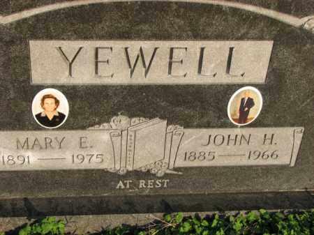YEWELL, JOHN H. - Poinsett County, Arkansas | JOHN H. YEWELL - Arkansas Gravestone Photos