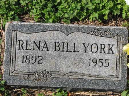 YORK, RENA BILL - Poinsett County, Arkansas | RENA BILL YORK - Arkansas Gravestone Photos