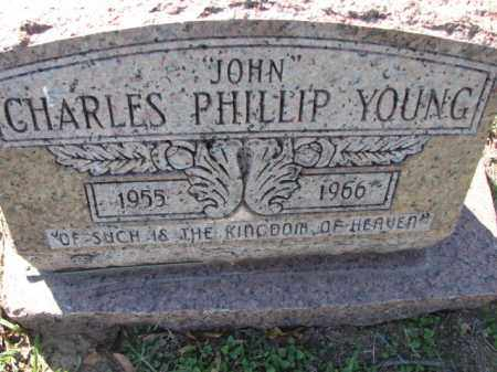 """YOUNG, CHARLES PHILLIP """"JOHN"""" - Poinsett County, Arkansas 