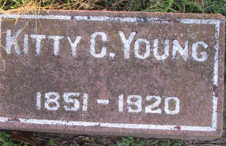 YOUNG, KITTY - Poinsett County, Arkansas | KITTY YOUNG - Arkansas Gravestone Photos