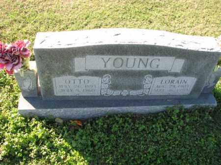 YOUNG, LORAIN - Poinsett County, Arkansas | LORAIN YOUNG - Arkansas Gravestone Photos