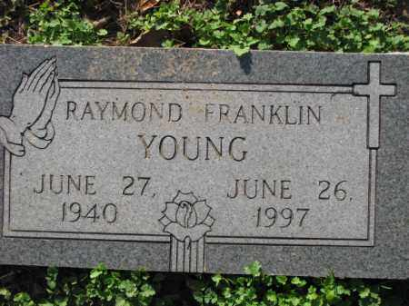 YOUNG, RAYMOND FRANKLIN - Poinsett County, Arkansas | RAYMOND FRANKLIN YOUNG - Arkansas Gravestone Photos