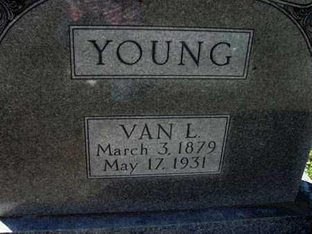 YOUNG, VAN L. - Poinsett County, Arkansas | VAN L. YOUNG - Arkansas Gravestone Photos