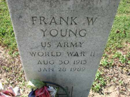 YOUNG (VETERAN WWII), FRANK W - Poinsett County, Arkansas | FRANK W YOUNG (VETERAN WWII) - Arkansas Gravestone Photos