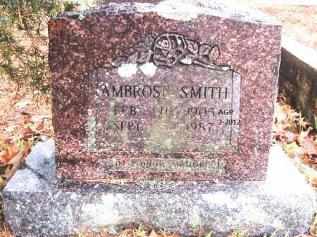SMITH, AMBROSE - Polk County, Arkansas   AMBROSE SMITH - Arkansas Gravestone Photos