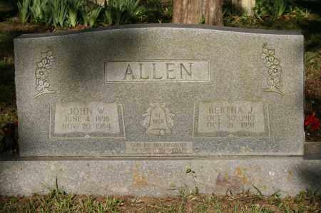 ALLEN, JOHN W - Polk County, Arkansas | JOHN W ALLEN - Arkansas Gravestone Photos