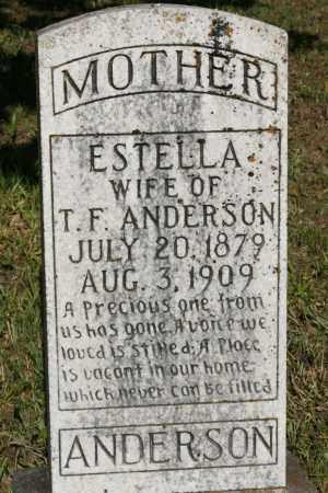 ANDERSON, ESTELLA - Polk County, Arkansas | ESTELLA ANDERSON - Arkansas Gravestone Photos