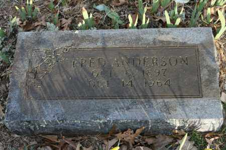 ANDERSON, FRED - Polk County, Arkansas | FRED ANDERSON - Arkansas Gravestone Photos