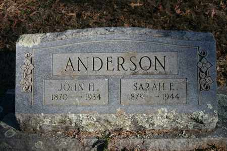 ANDERSON, JOHN H. - Polk County, Arkansas | JOHN H. ANDERSON - Arkansas Gravestone Photos