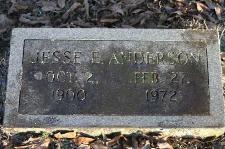 ANDERSON, JESSE E. - Polk County, Arkansas | JESSE E. ANDERSON - Arkansas Gravestone Photos