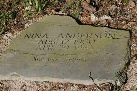 ANDERSON, NINA - Polk County, Arkansas   NINA ANDERSON - Arkansas Gravestone Photos