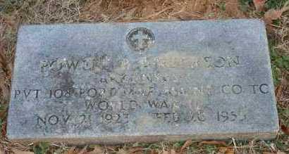 ANDERSON (VETERAN WWII), POWELL B - Polk County, Arkansas | POWELL B ANDERSON (VETERAN WWII) - Arkansas Gravestone Photos