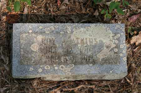 ATKINS, ROY A. - Polk County, Arkansas | ROY A. ATKINS - Arkansas Gravestone Photos