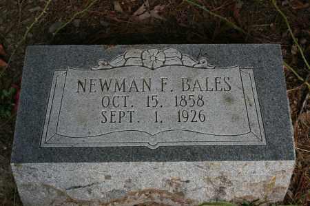 BALES, NEWMAN F. - Polk County, Arkansas | NEWMAN F. BALES - Arkansas Gravestone Photos