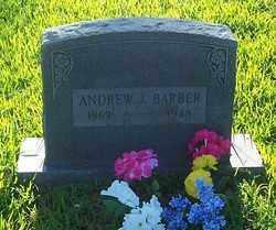 BARBER, ANDREW J. - Polk County, Arkansas | ANDREW J. BARBER - Arkansas Gravestone Photos