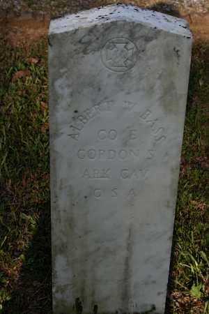 BASS  (VETERAN CSA), ALBERT W - Polk County, Arkansas   ALBERT W BASS  (VETERAN CSA) - Arkansas Gravestone Photos