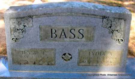 BASS, JESSIE F - Polk County, Arkansas | JESSIE F BASS - Arkansas Gravestone Photos