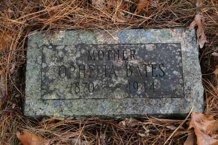 BATES, OPHELIA - Polk County, Arkansas | OPHELIA BATES - Arkansas Gravestone Photos