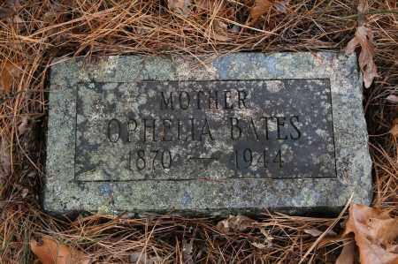 BATES, OPHELIA - Polk County, Arkansas   OPHELIA BATES - Arkansas Gravestone Photos