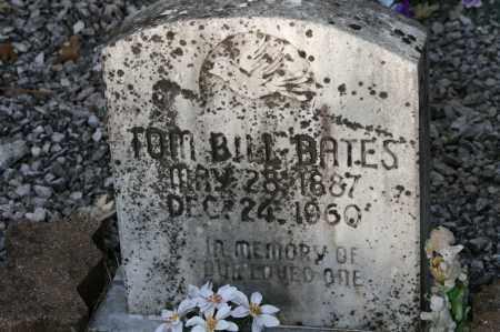 BATES, TOM BILL - Polk County, Arkansas | TOM BILL BATES - Arkansas Gravestone Photos