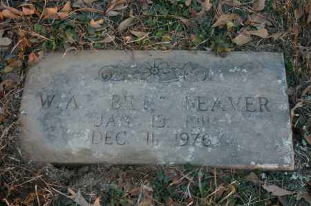 "BEAVER, W.A. ""BILL"" - Polk County, Arkansas | W.A. ""BILL"" BEAVER - Arkansas Gravestone Photos"