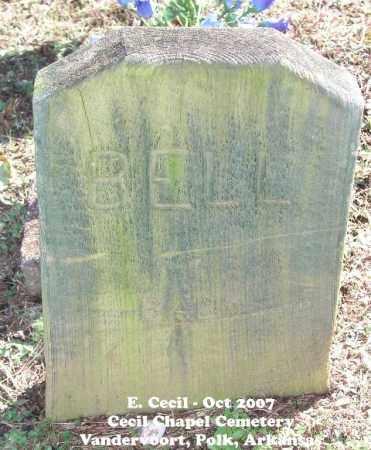 BELL, BABY - Polk County, Arkansas   BABY BELL - Arkansas Gravestone Photos