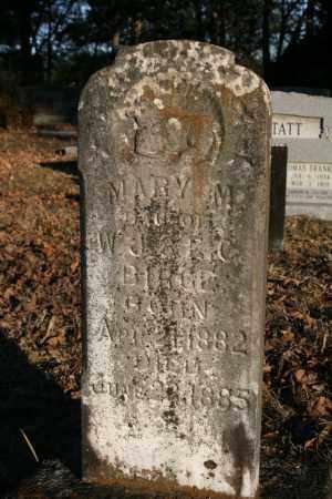 BIRGE, MARY M. - Polk County, Arkansas | MARY M. BIRGE - Arkansas Gravestone Photos