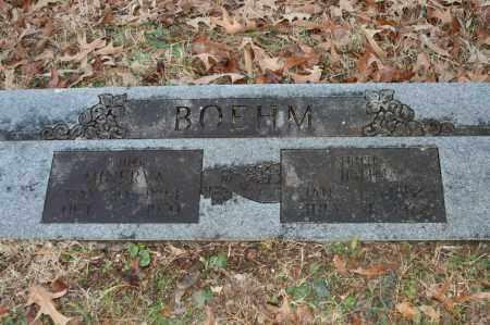 BOEHM, MINERVA - Polk County, Arkansas   MINERVA BOEHM - Arkansas Gravestone Photos